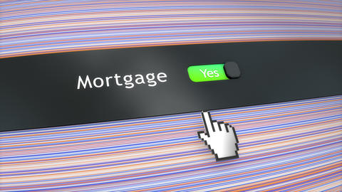Application setting Mortgage Stock Video Footage