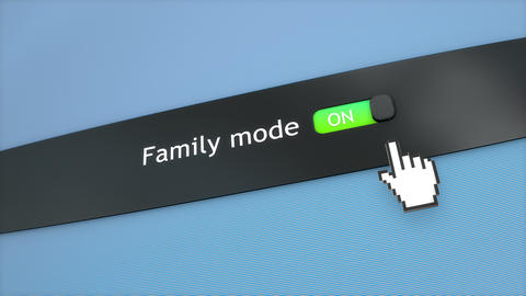 Application setting Family mode Live Action