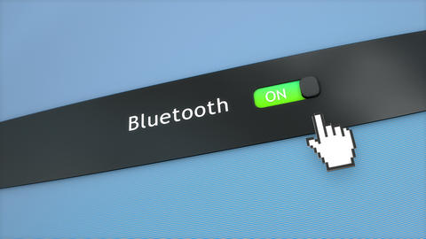 Application setting Bluetooth Animation