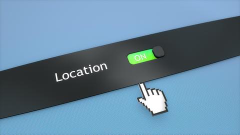 Application setting Location, Stock Animation