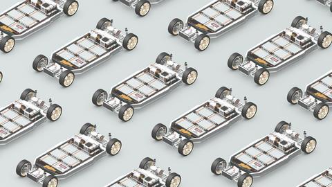 EV battery pack Animation