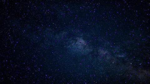 Shining Milky Way Footage