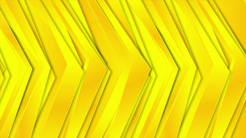Abstract corporate bright yellow video animation GIF