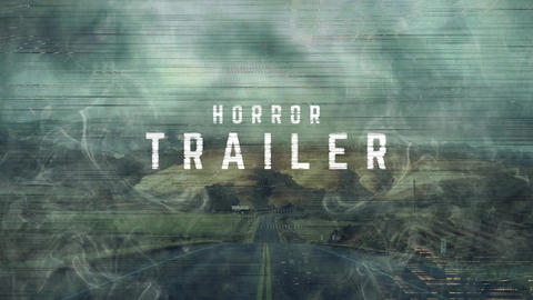 Horror Trailer Premiere Pro Template