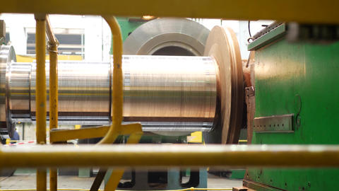Steel blank for fabricating steam turbine of power generator Live Action