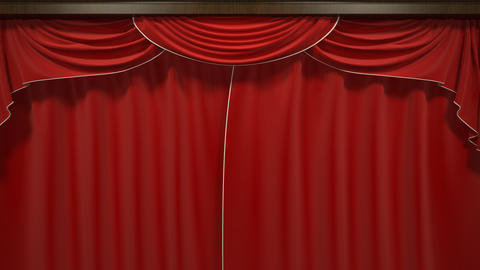 Opening Theater Curtain Animation