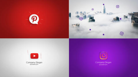 Stylish Minimal Logo Reveal After Effects Template