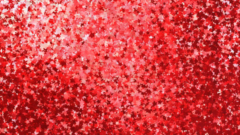 Glitter Star Frame 3 As Red Small 4k Animation