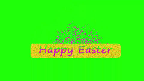 HappyEasterGreen Animation