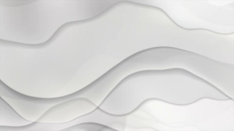 Grey liquid abstract waves video animation Animation