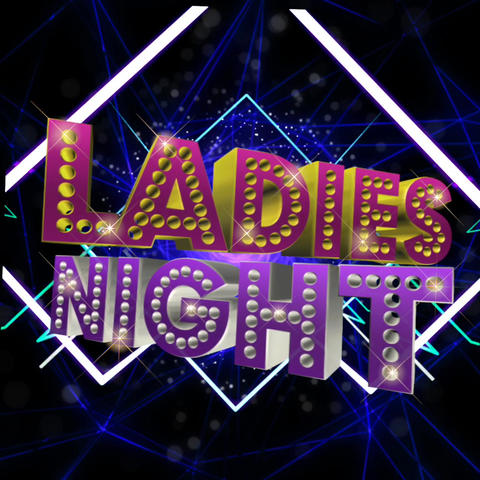 ladies night background video graphic Footage