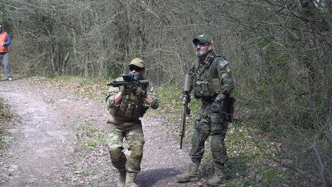 special forces soldiers seal team in action GIF