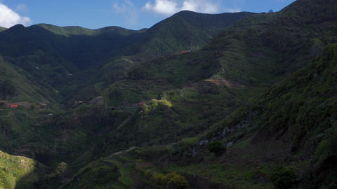 Anaga natural park in Tenerife, Canary islands, Spain Footage