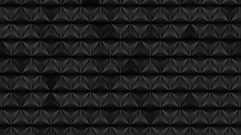 Abstract black triangles texture video animation Animation