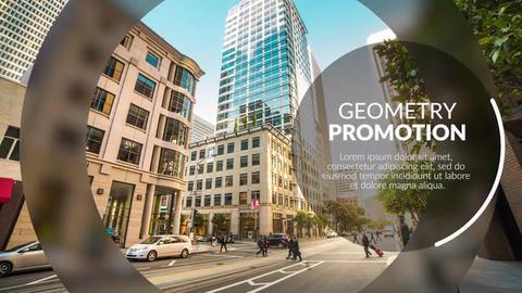 Geometry Promotion // Premiere Pro Premiere Pro Template