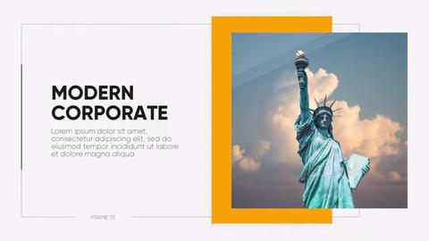 Modern Corporate - Clean Presentation // Premiere Pro Premiere Pro Template