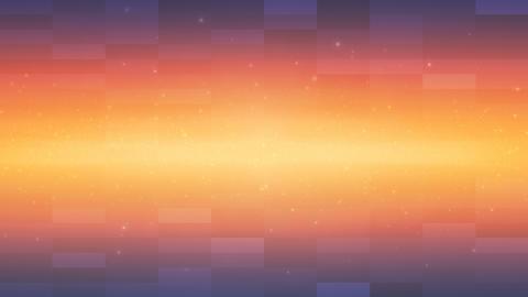 Orange Shining Beam and Squares Looping Background Animation