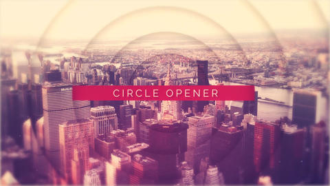 Circle Opener After Effectsテンプレート