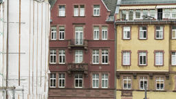 Classic Residential Architecture in Frankfurt Germany 2 Footage