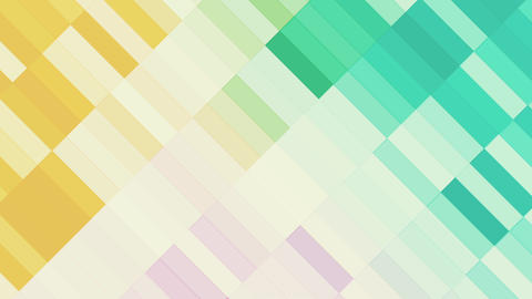 Colorful Slowly Animated Rectangles Animation
