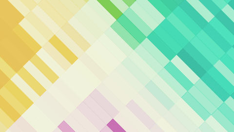 Colorful Slowly Animated Rectangles Stock Video Footage