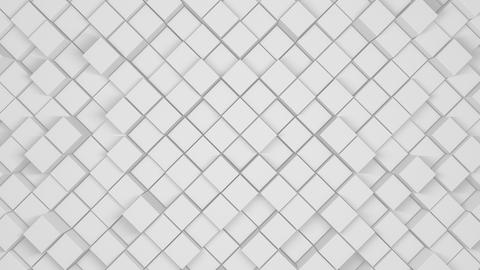 Corporate Silver Squares CG動画素材