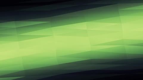 Oblique Green Polygons Animated Background Animation