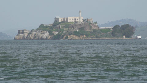 Low angle view of Alcatraz Footage
