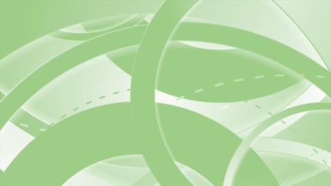 Green abstract tech minimal video animation Animation