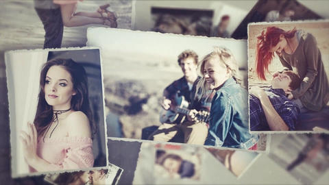 Romantic Slideshow After Effects Template