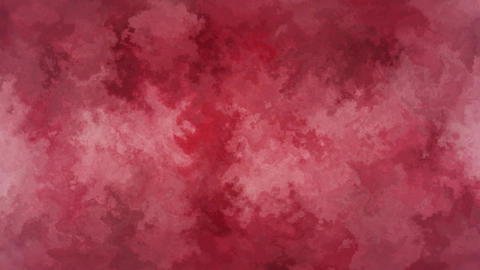 Abstract Red Grunge Background Animación