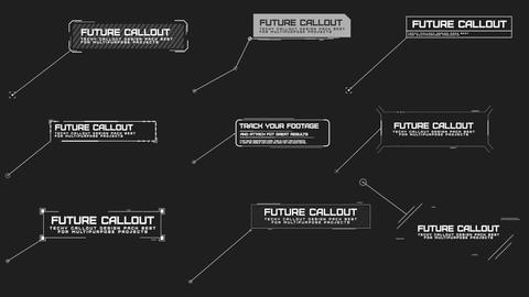 Modern Callout Pack Motion Graphics Template