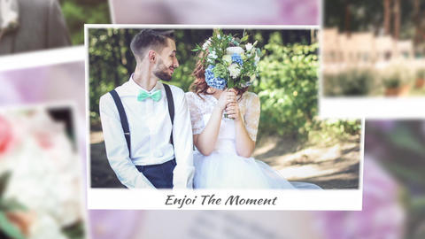 Wedding Gallery Slideshow After Effects Template