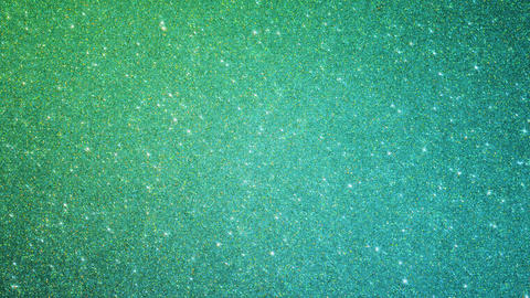 Emerald Glitter Particles Animation