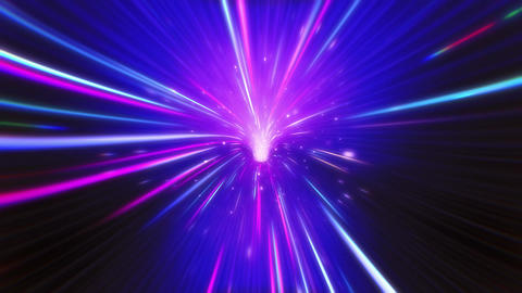 Neon VJ Light Tunnel Animation