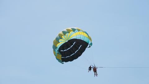 Parasailing extreme sport GIF