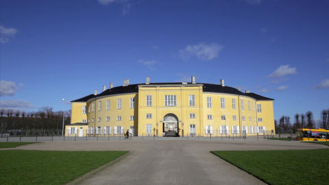 Frederiksberg Palace on a sunny day Footage