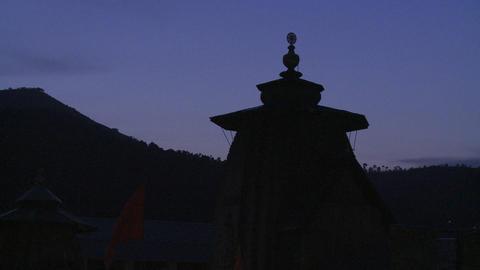 Lakshmi Narayan Temple Stock Video Footage