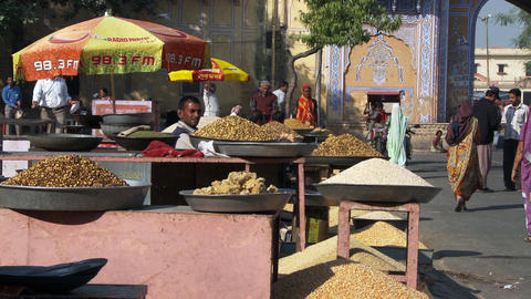 grain and nut market Live Action