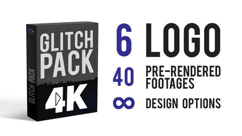 Glitch Pack After Effects Template
