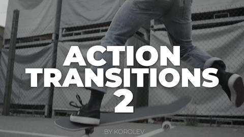 Action Transitions V.2 Premiere Pro Template