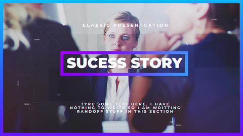 Sucess Story After Effects Template