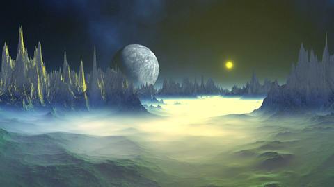 Mysterious Alien Planet GIF