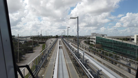 Miami Airport Skytrain Live Action