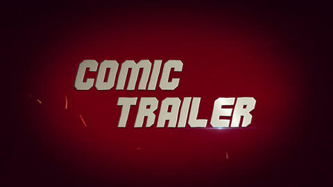 Comic Trailer After Effects Template