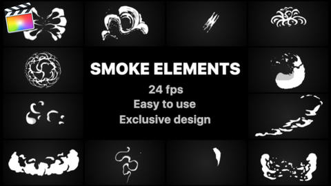 Smoke Elements Apple Motion Template