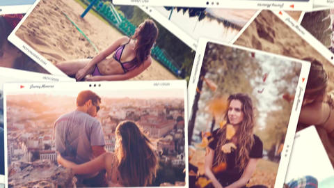 Journey Memories After Effects Template
