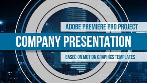 Company Presentation Premiere Pro Project Premiere Proテンプレート