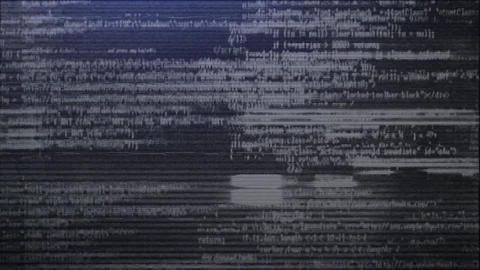 GLITCH TEXT INTRO After Effects Template