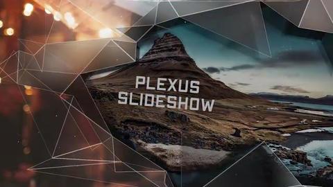 Slideshow Premiere - Elegant Plexus // Premiere Pro Premiere Pro Template